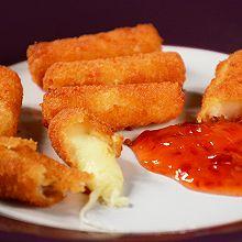香脆马苏里拉奶酪棒【油炸版&烤箱版】