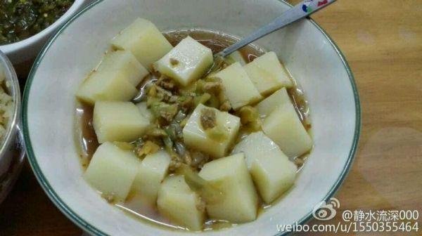 自制米豆腐