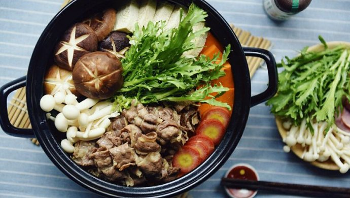 日式肥牛火锅——寿喜烧