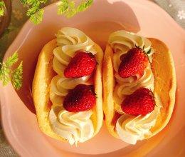 网红草莓蛋糕的做法