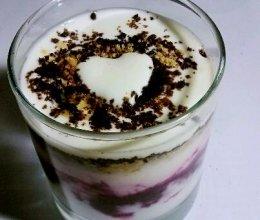 蓝莓酸奶的做法