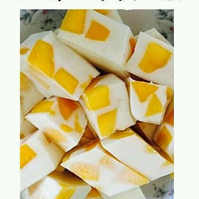 芒果椰子糕