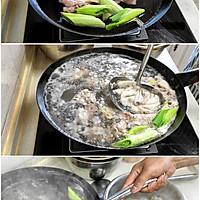 清炖羊排,老爸的拿手菜,汤鲜味浓,羊肉软烂,连萝卜都非常好吃的做法图解2