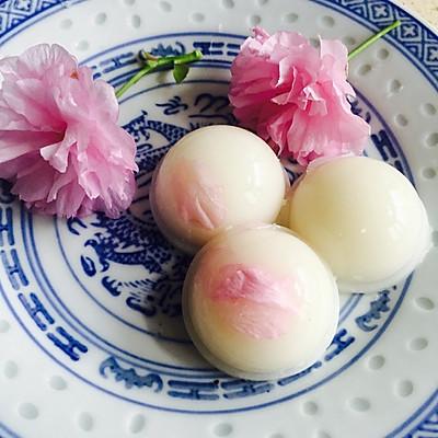 樱花椰子冻布丁