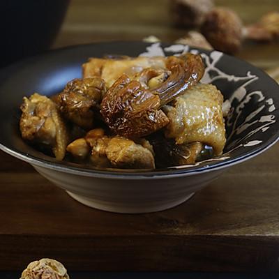 【姬松茸焖鸡】荤与素的最佳组合
