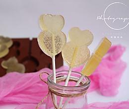 浓情蜜意棒棒糖的做法