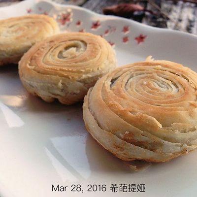 金酥豆沙饼