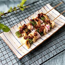 鸡肉洋葱彩蔬烤串#松下多面美味#