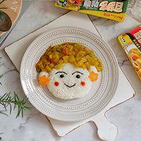 娃娃咖喱饭·卡通餐#百梦多圆梦季#
