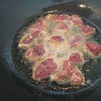 极品黑椒牛肉粒#德国miji爱心菜#的做法图解6