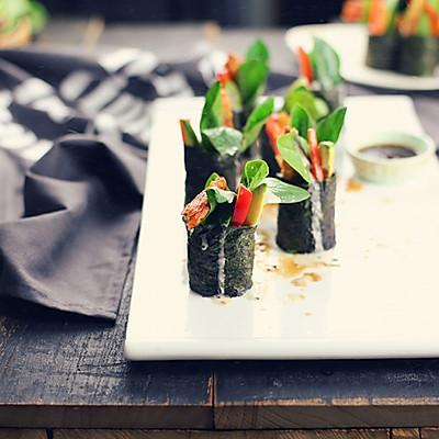 鲜虾寿司卷