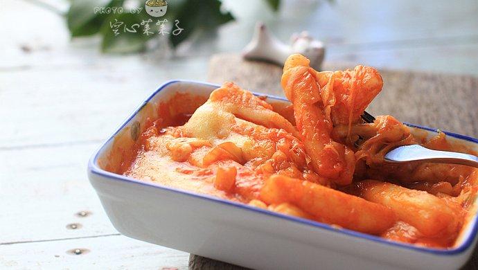 芝士泡菜焗年糕