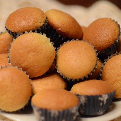 橙香全蛋小蛋糕