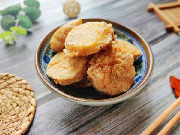 香香脆脆的茄盒/茄饼配方的做法