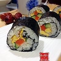 家庭版寿司的做法图解12