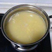 20汤锅:小米稀饭玉米面熟豆面鸡蛋煮肘子的做法图解4