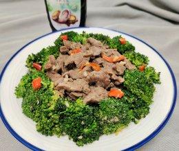 鲍汁蚝油西兰花炒牛肉的做法