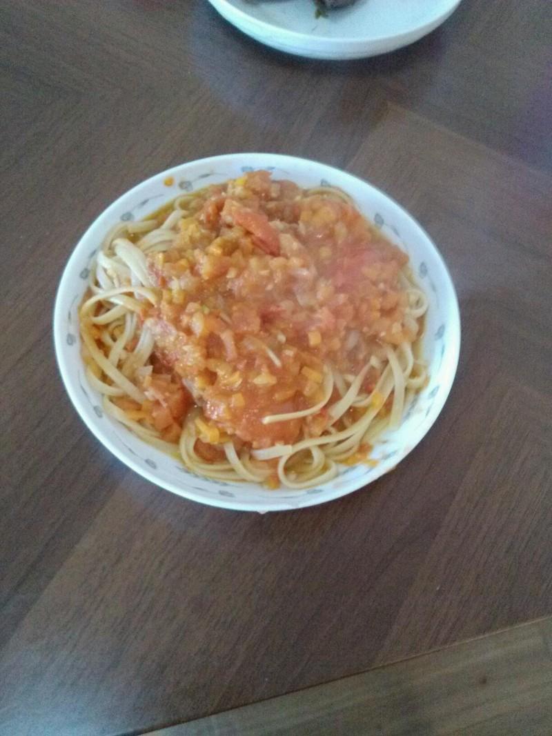 西红柿意大利面的做法步骤