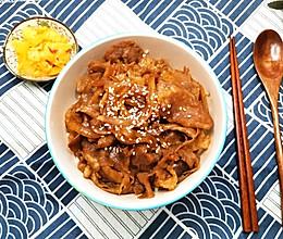 美味便当——日式烧汁肥牛饭的做法