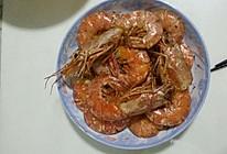 椒盐阿根廷红虾的做法