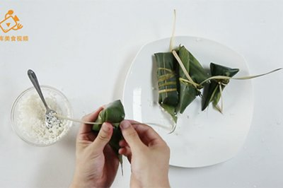 4种最实用的包粽子方法,一学就会
