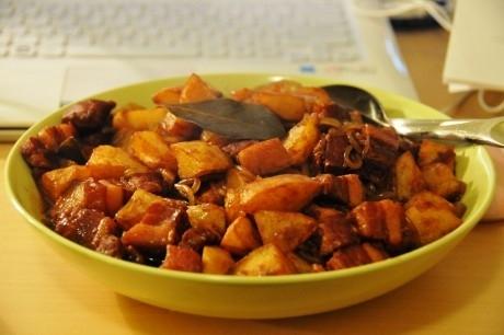 肉与土豆的配搭的做法