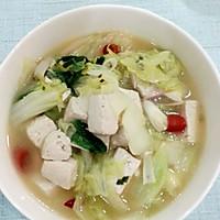 白菜烩豆腐的做法图解5
