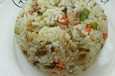 幼儿食谱-蔬菜鸡肉丝焖饭
