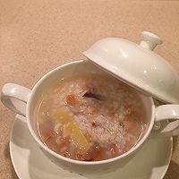 鱼膏干贝海鲜粥
