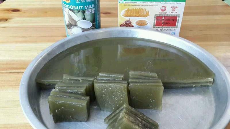 抹茶马蹄糕的做法_【图解】抹茶马蹄糕怎么做好吃