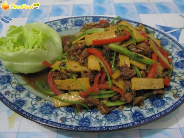攸县香干炒肉—春季美食的做法