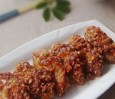 榨菜烤鸡翅