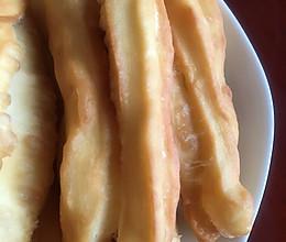 酥脆油条的做法