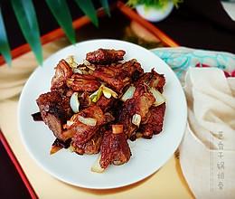 干锅葱香排骨#给老爸做道菜#的做法