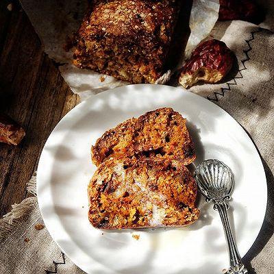 低脂快手免烤的 红枣蛋糕