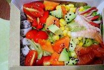蔬果海鲜轻体沙律的做法