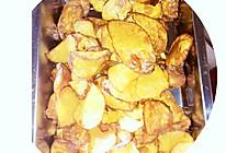 红薯片的做法