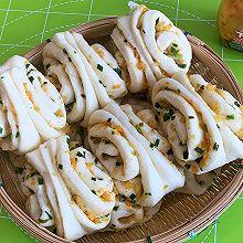 榨菜葱花卷