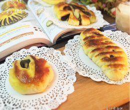 豆沙卷面包的做法