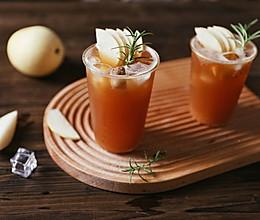 初秋美白润肺茶饮❗️甜梨柠檬红茶的做法