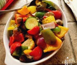 【维生素】速烤七彩蔬菜的做法