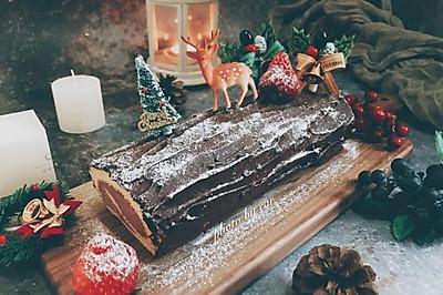 圣诞树桩蛋糕卷couss卡士烤箱750a试用反馈