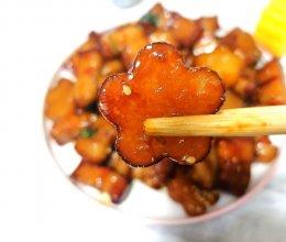 #麦子厨房美食锅#花型土豆红烧肉的做法