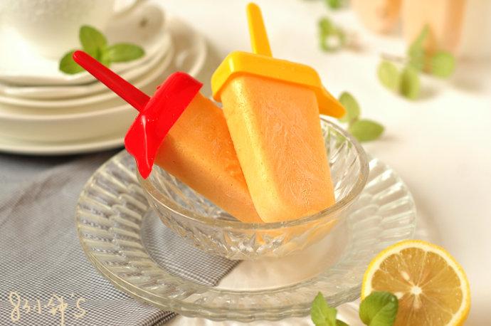炒菜煲汤临锅时加入提鲜不口干 芒果冰棍的做法步骤 2.