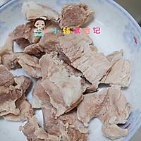 6个月以上蔬菜豆腐肉泥的做法图解4