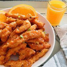 橙香鸡里脊
