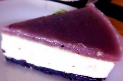 蓝莓芝士慕斯蛋糕