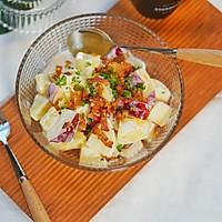 健康食谱|苹果酸奶土豆色拉,清爽美味#硬核菜谱制作人#的做法图解6