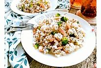 藜麦三文鱼炒饭的做法