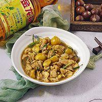板栗焖鸡腿丁#金龙鱼营养强化维生素A菜籽油#